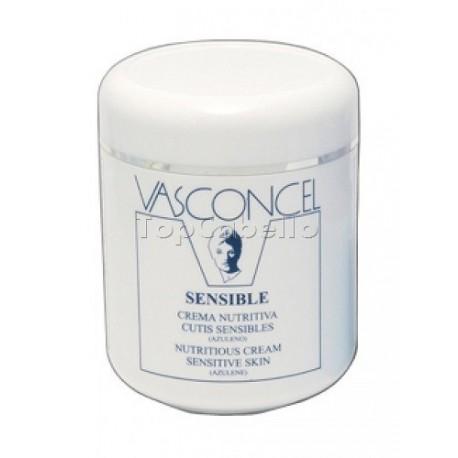 Crema Nutritiva cutis sensibles Vasconcel 500ml