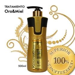 Keratin Cure - Tratamiento Keratina Oro Miel 500ml