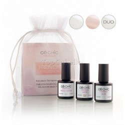 Mini Kit esmaltado semipermanente Gelacker FRENCH Ce Chic (3 x 7,5ml)