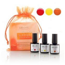 Mini Kit esmaltado semipermanente Gelacker SUMMER Ce Chic (3 x 7,5ml)
