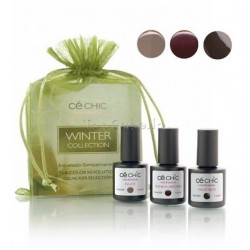 Mini Kit esmaltado semipermanente Gelacker WINTER Ce Chic (3 x 7,5ml)