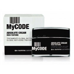 Tratamiento Global Antiedad MyCode Absolute Cream RICH SUMMECOSMETICS 50ml