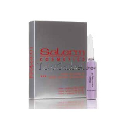 Aceite Matizador Decoloración Salerm (12 ampollas 13ml.)