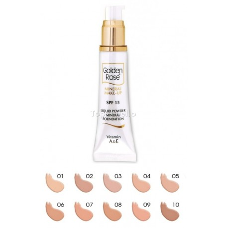Maquillaje fluido Liquid Powder Golden Rose