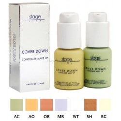 Maquillaje correctivo Cover Down Stage Line Laurendor 30ml