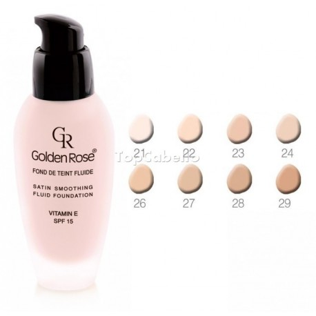 Maquillaje Satin Smoothing Fluid Foundation Golden Rose