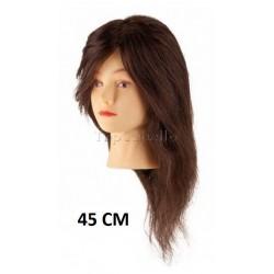 Maniquí Peluquería Steinhart Pelo 100% Humano 45cm