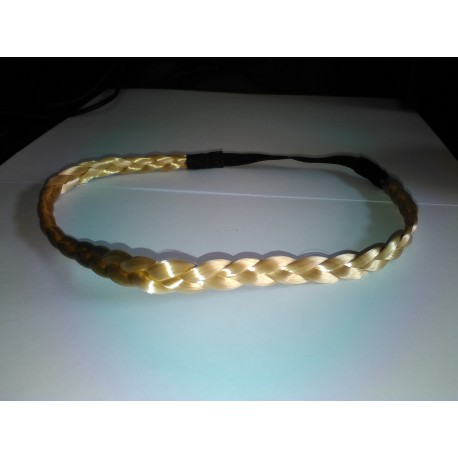 Headband Trenza Fina Color RUBIO