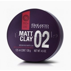 Arcilla de Peinado Salerm Proline 02 Matt Clay 125ml