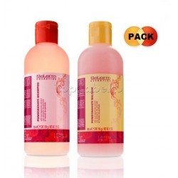 Pack Salerm POMEGRANATE Champú + Bálsamo Acondicionador 200ml.