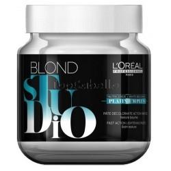 Crema decolorante Platinium Plus Blonde Studio LOREAL Bote 500 gr
