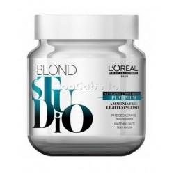 Crema decolorante Sin Amoniaco Platinium Blond Studio LOREAL Bote 500 gr