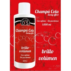 Champú COLA Con Cafeína, Brillo y Volumen VALQUER 1000ml