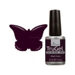 Esmaltado semipermanente 14ml EzFlow TruGel Black Violet