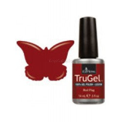 Esmaltado semipermanente 14ml EzFlow TruGel Red Flag