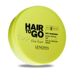 Cera de definicion flexible Hair To Go Art Maniac Lendan 75gr