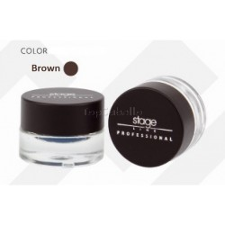 Delineador de ojos en gel H-Fix Eye Liner Stage Line Brown