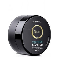 Pomada Fijacion y Brillo Decode Texture Diamond Montibello 90ml
