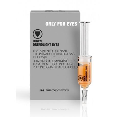 Contorno de Ojos DOWN DRENOLIGHT EYES (3x5ml) Summe Cosmetics ONLY FOR EYES