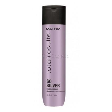 Champu cabellos blancos Silver Matrix 300ml