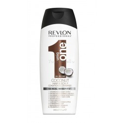Champú 10 en 1 UNIQ ONE COCO Revlon Conditioning Shampoo 300ml - sin sulfato SLS-