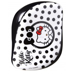 Cepillo Desenredar Tangle Teezer Compact HELLO KITTY BLACK