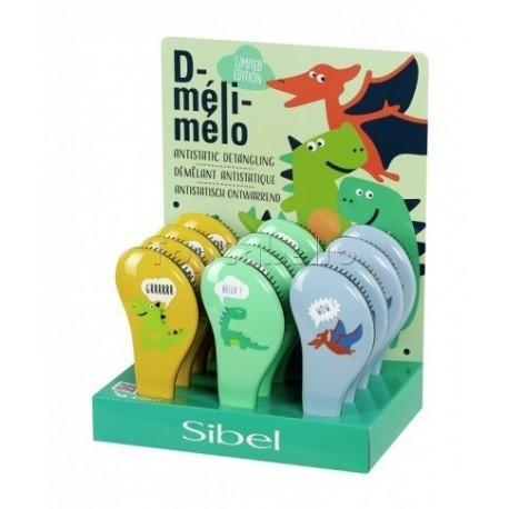 Cepillo Desenredar D-Meli Melo Modelo NENES Sibel Ed.Limitada