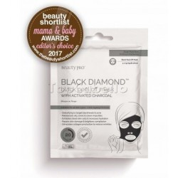 Mascara Exfoliante con carbón activo BLACK DIAMOND Peel-Off Mask Beauty Pro (3Uds x 7gr)