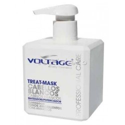 Mascarilla para cabellos blancos/grises Voltage 500ml
