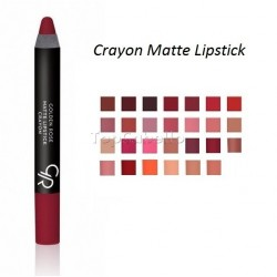 Lapiz Matte Lipstick Crayon Golden Rose