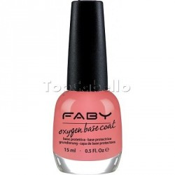Base endurecedora Oxigen Base Coat Faby