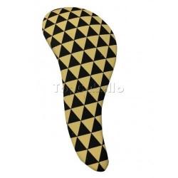 Cepillo Desenredar D-Meli Melo Modelo BLACK & GOLD