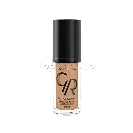 Base + corrector Total Cover 2in1 Foundation & Concealer Golden Rose