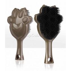 Cepillo desenredante antibacteriano para mascotas ANGEL PET Bronce