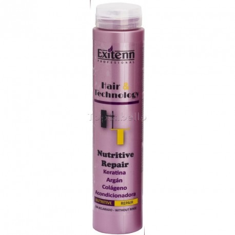 Acondicionador Nutritive Repair Keratina+Argán+Colágeno EXITENN 250 ml