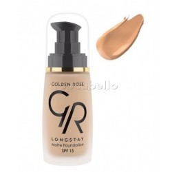 Maquillaje Longstay 06 Matte Foundation Golden Rose