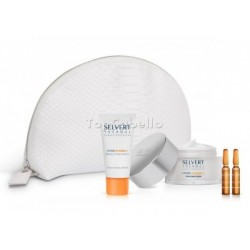 Pack Programa Facial SELVERT THERMAL Hidratante con Vitamina C + Pure Vitamin C