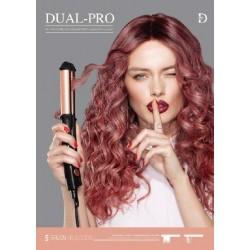 Plancha DUAL-PRO 3 en 1 (Plancha, Riza, Ondula) Salerm Salon Seleccion