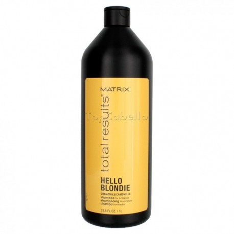 Champu Cabellos Rubios Hello Blondie Matrix 1000ml