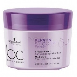 Mascarilla Keratin Smooth Perfect Bonacure Schwarzkopf 200ml