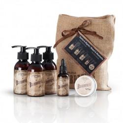 Pack Barber BEARDBURYS para el cuidado de la barba (5 Productos)