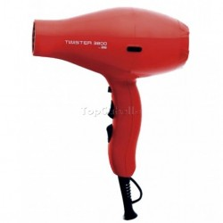 Secador Twister 3800 Rojo + Difusor Asuer