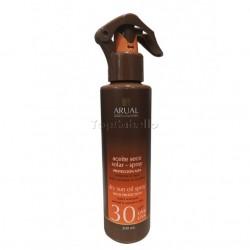 Protector Solar Spray Aceite Seco SPF30 ARUAL 200ml