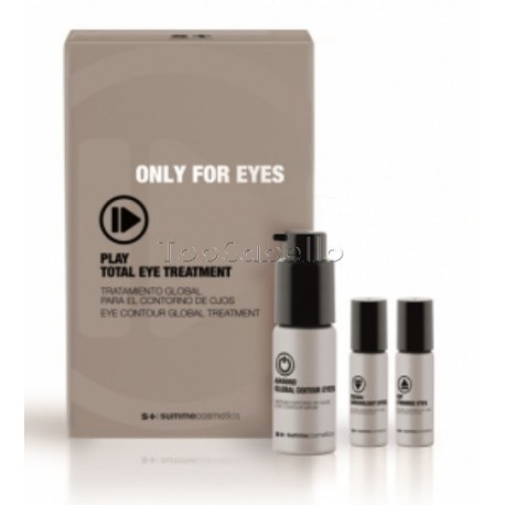 Tratamiento Completo Ojos PLAY TOTAL EYE TREATMENT (1x30ml+2x7ml) Summe Cosmetics ONLY FOR EYES
