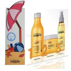 Pack SOLAR SUBLIME L'Oreal (Champú + Mascarilla + Spray)