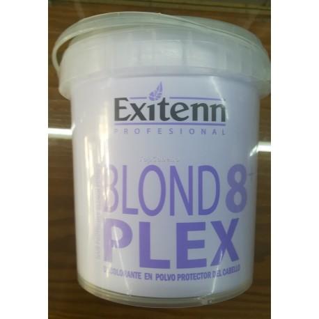 Decoloración en polvo protector cabello BLOND PLEX 8+ EXITENN 1Kg