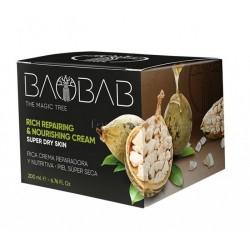 Baobab Crema Regeneradora y Nutritiva Diet Esthetic 200ml