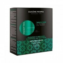 Tratamiento Anticaída en Ampollas KERATIN FORCE Eugene Perma (12x3.5ml)