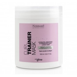 Mascarilla Cabellos Rizados CURL TRAINER Kosswell 500ml