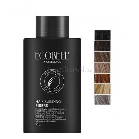 Bote Fibras Capilares Ecobell 50gr (Varios Colores)